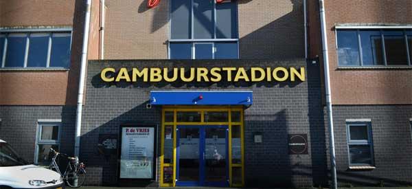 Cambuur Stadion Exterior