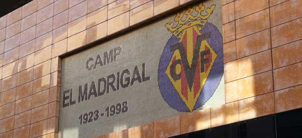 Camp El Madrigal Sign