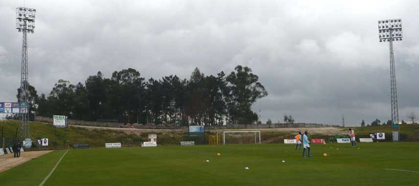 Goal view of Campo SC Freamunde