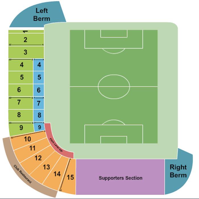 Cashman Field Seating Plan