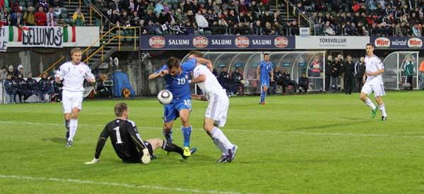 Italy v Faroe Islands Antonio Cassano
