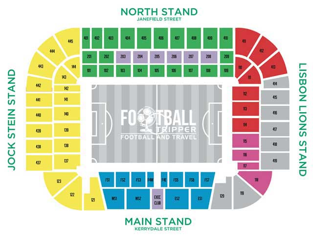 Celtic Park Seating Plan