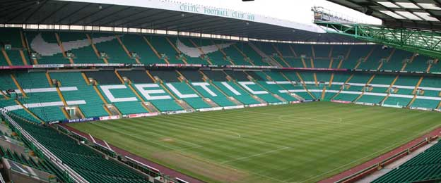Main stand of Celtic Park