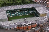Aerial view of Celtic Park Stadium
