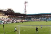 Inside Gomel's Central Stadium