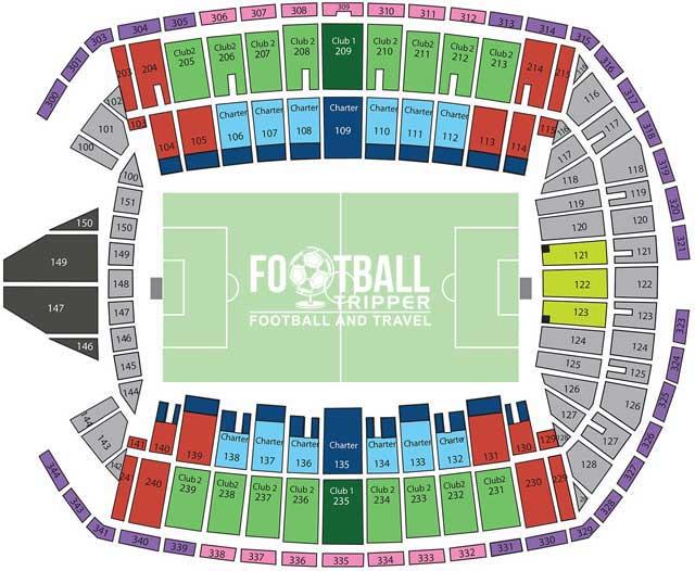 Century Field Seating Plan Seattle