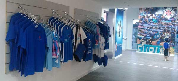 Inside CF o belenenses club shop