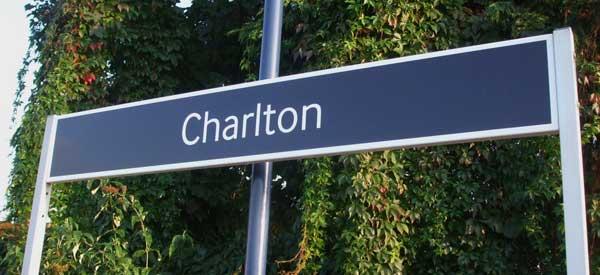 Charlton Railway Sign