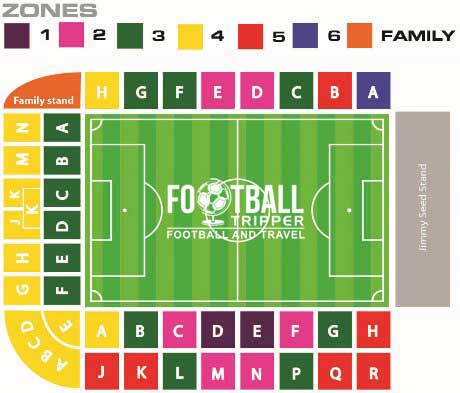 The Valley seating plan