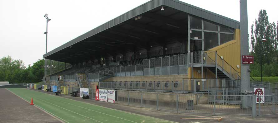 Chelmsford city stadium main stand