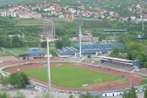 Aerial view of Cika Daca Stadium