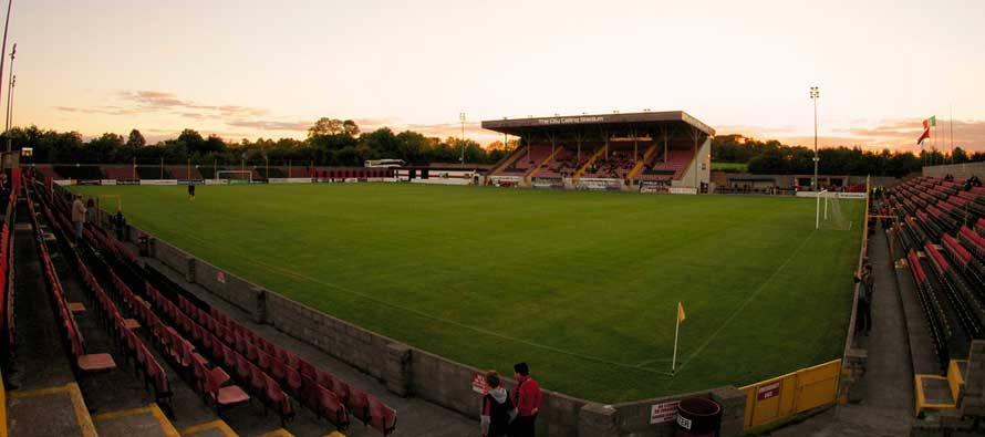 A look inside Strokestown Road aka City Calling Stadium
