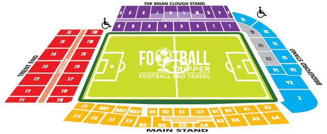 Nottingham City Ground Seating Plan