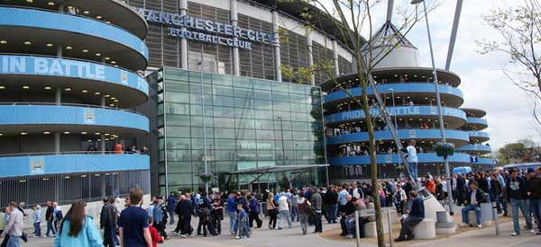 Main Entrance of The Etihad