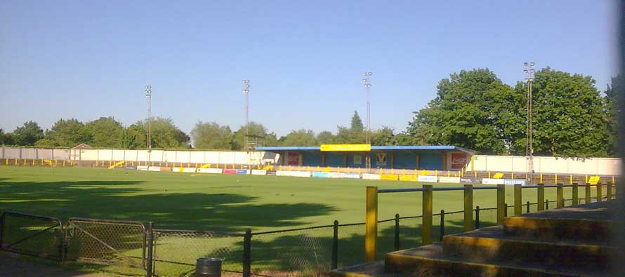 Main stand of clarence park