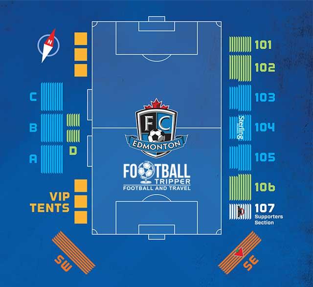 FC Edmonton Seating Chart