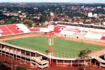 Aerial view of Club 3 De Febrero