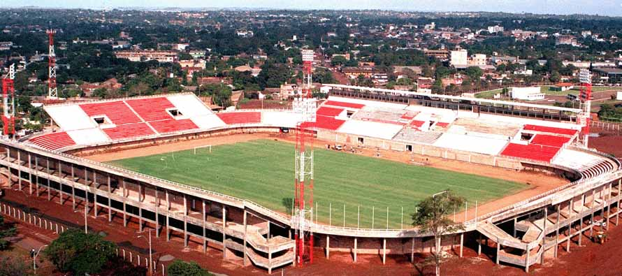 Aerial view of Club 3 De Febrero