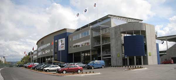 Exterior of Alesund Stadium
