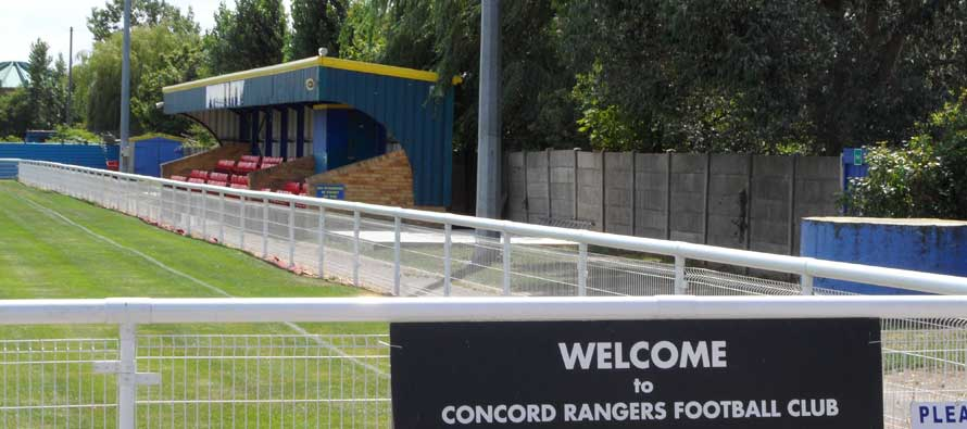Welcome to Concord Rangers' football ground