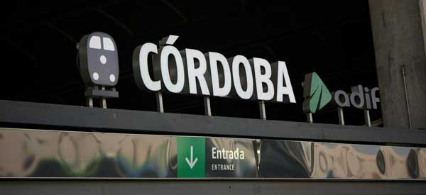 Cordoba Railwsy Sign