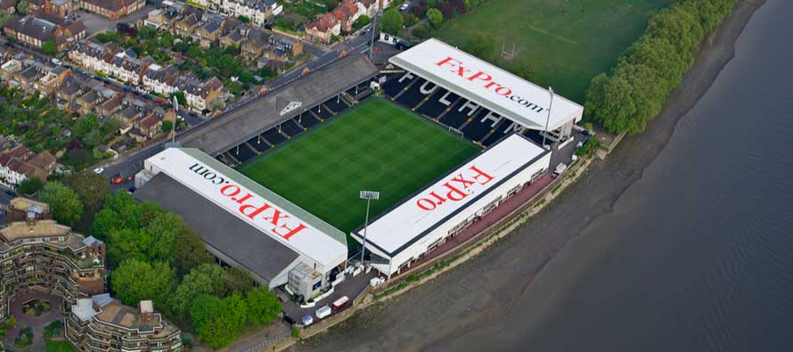 Inside Craven Cottage on matchday