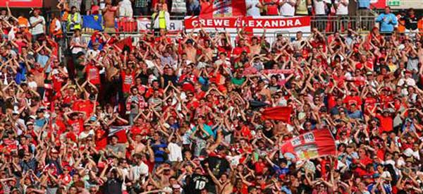 The Crewe Alex fanbase