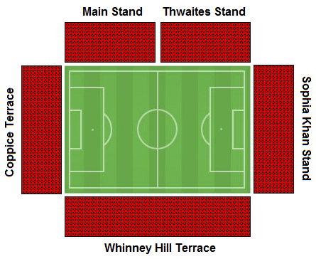 Crown Ground Seating Plan Accrington