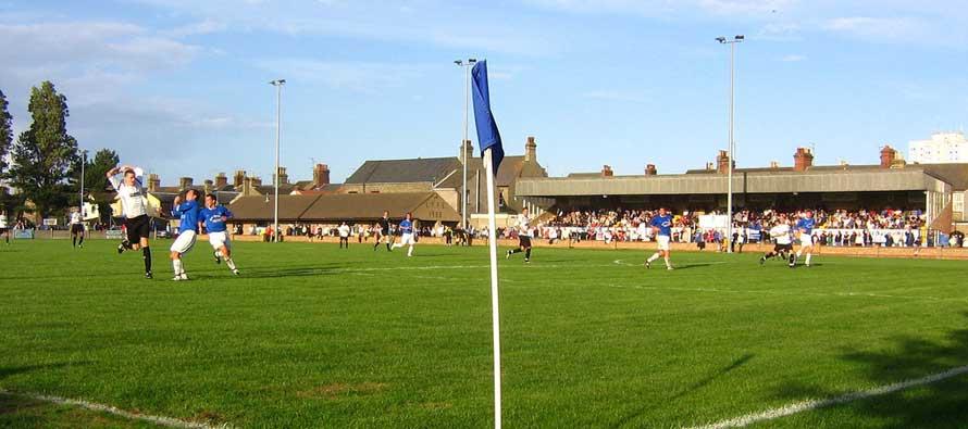 Crown Meadow corner flag