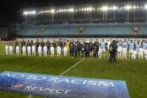 Players Line up CSKA Moscow V Man City