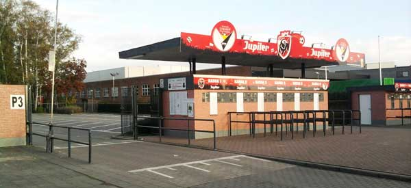 Daknam Stadium entrance