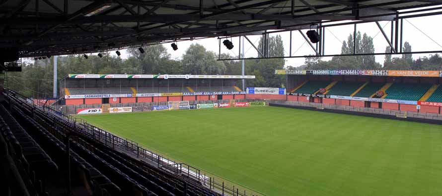 The pitch at Daknamstadion