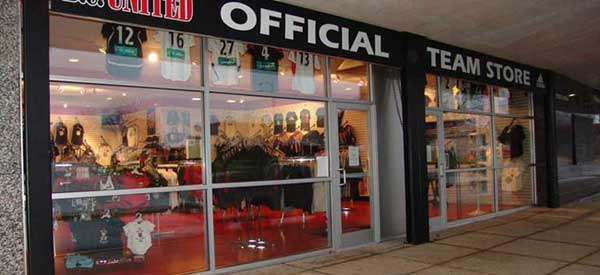 Exterior of DC United Store