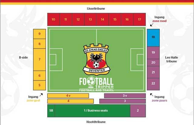 De Adelaarshorst stadium map