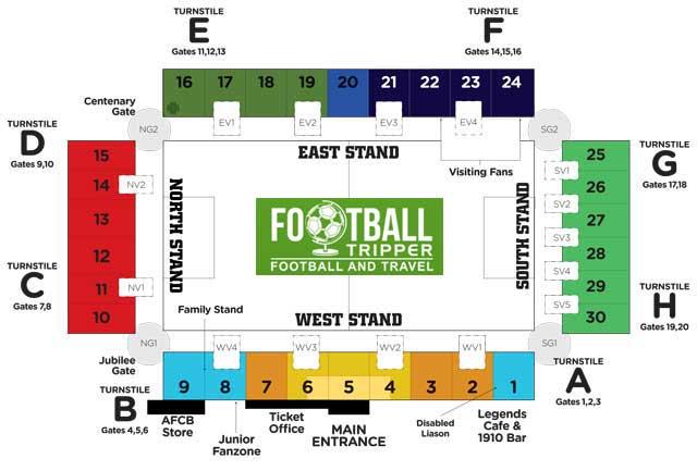dean-court-stadium-bournemouth-seating-plan