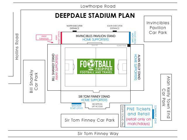 Deepdale Stadium Preston North End Seating Plan