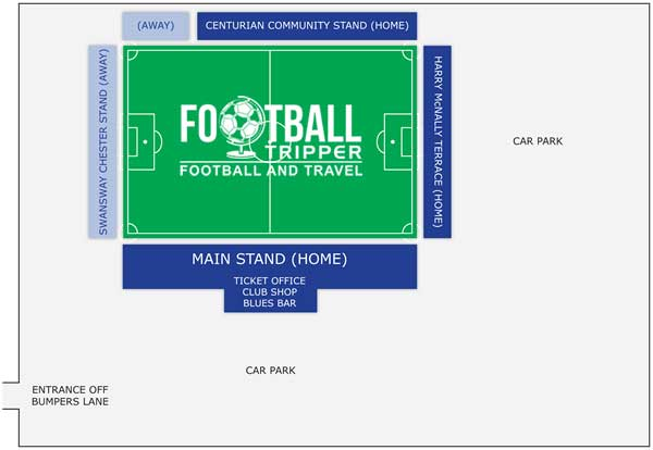 Deva stadium seating chart