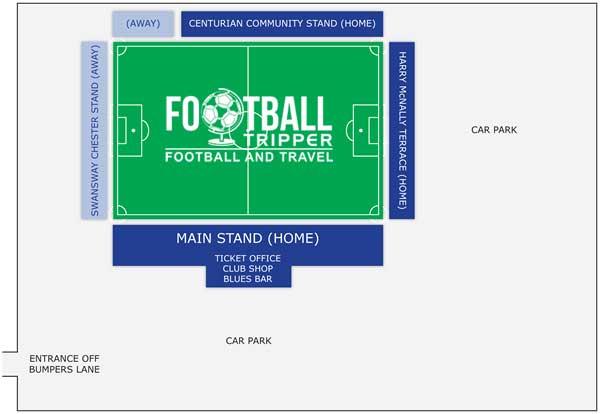 Deva stadium seating chart
