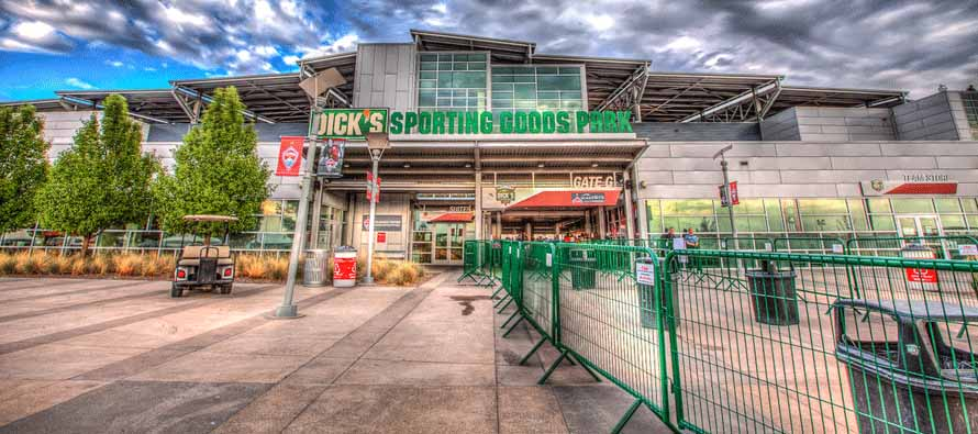 Dicks Sporting Goods Park main entrance