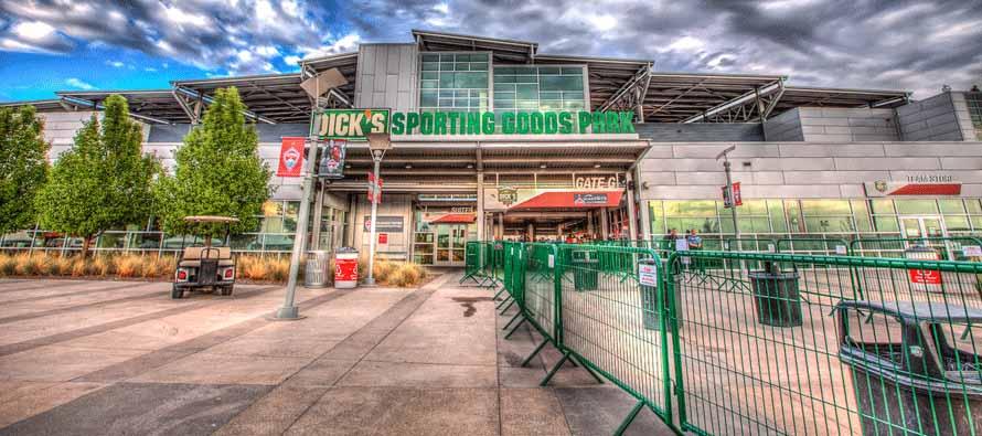 Dicks Sporting Goods Park main entrance