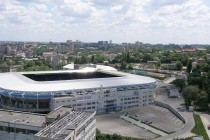 aerial view of stadion dnipro arena