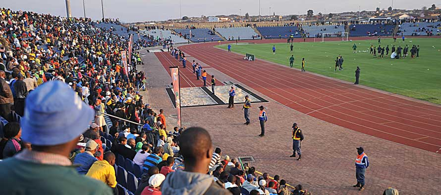 Interior of Dobsonville Stadium