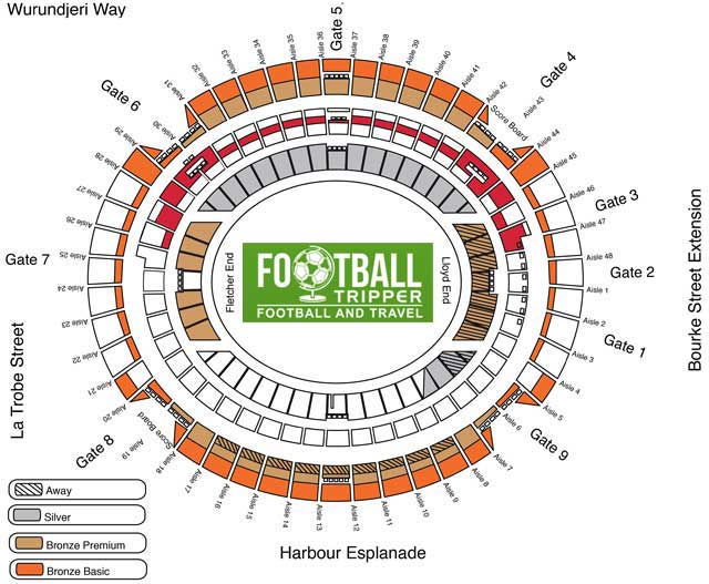 Docklands Etihad Seating Plan Melbourne