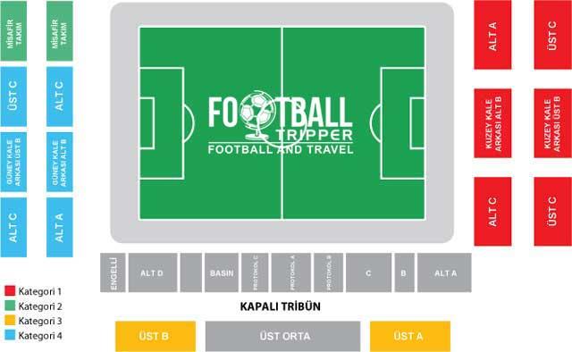 Dr. Necmettin Seyhoglu Stadyumu seating chart