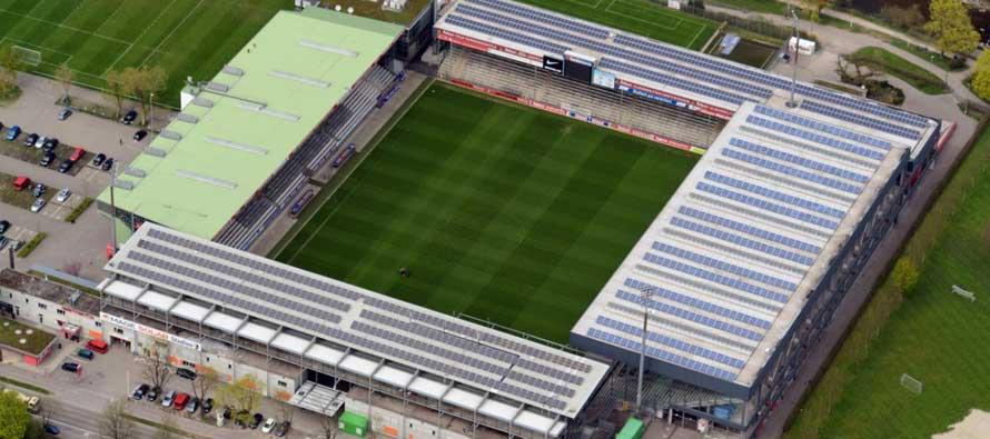 Inside Badenova Stadion