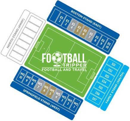 DW Stadium Seating Plan