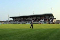 Eamonn Deacy Park stadium's pitch