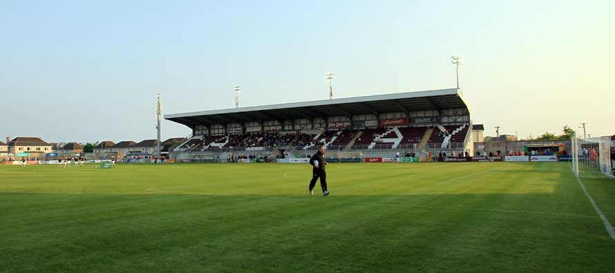 Eamonn Deacy Park stadium's pitch