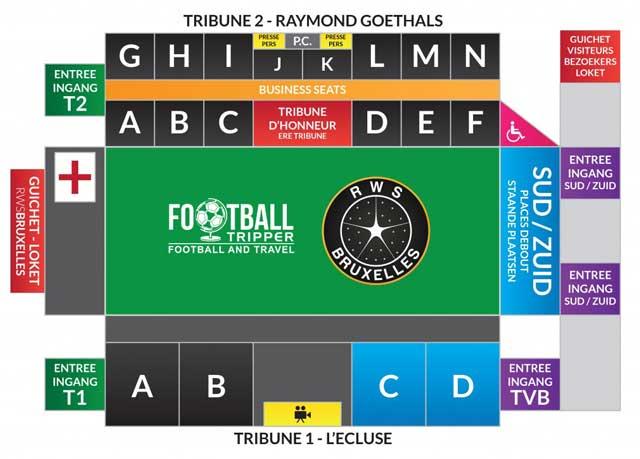 Seating chart for Edmond Machtens Stadium