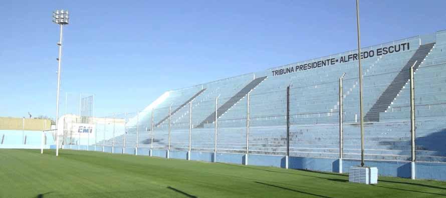 Inside estadio El Gigante De Alberdi